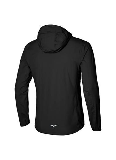 Mizuno 20K Er Jacket Erkek Yağmurluk Siyah Siyah